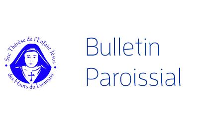 Bulletin paroissial dimanche 16 juin 2019