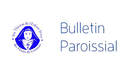 Bulletin paroissial dimanche 04 février 2018