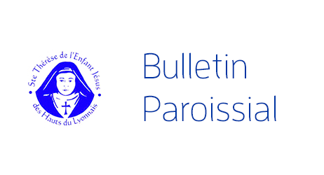 Bulletin paroissial du 18 mars 2018