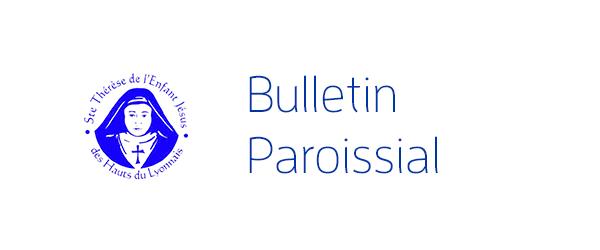 Bulletin paroissial dimanche 04 mars 2018