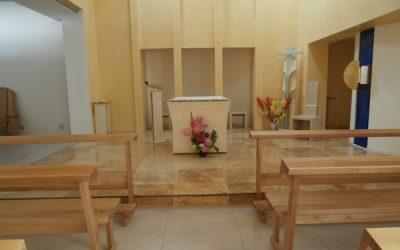 Ecole d'oraison, animée au carmel d'Yzeron, par le père Elie, carme