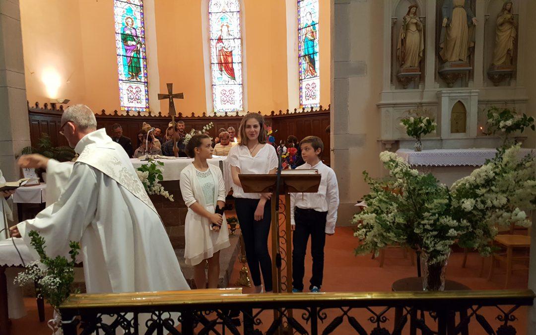 Lundi de Pâques baptêmes à Lamure