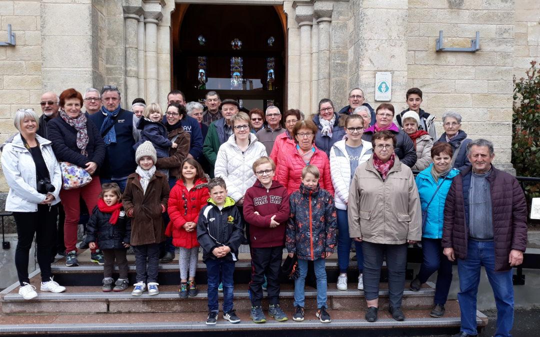 Visite guidée de l'église d'Aveize