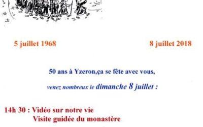 Le Carmel d'Yzeron fête ses 50 ans