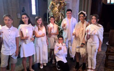 Baptêmes d'enfants en âge scolaire