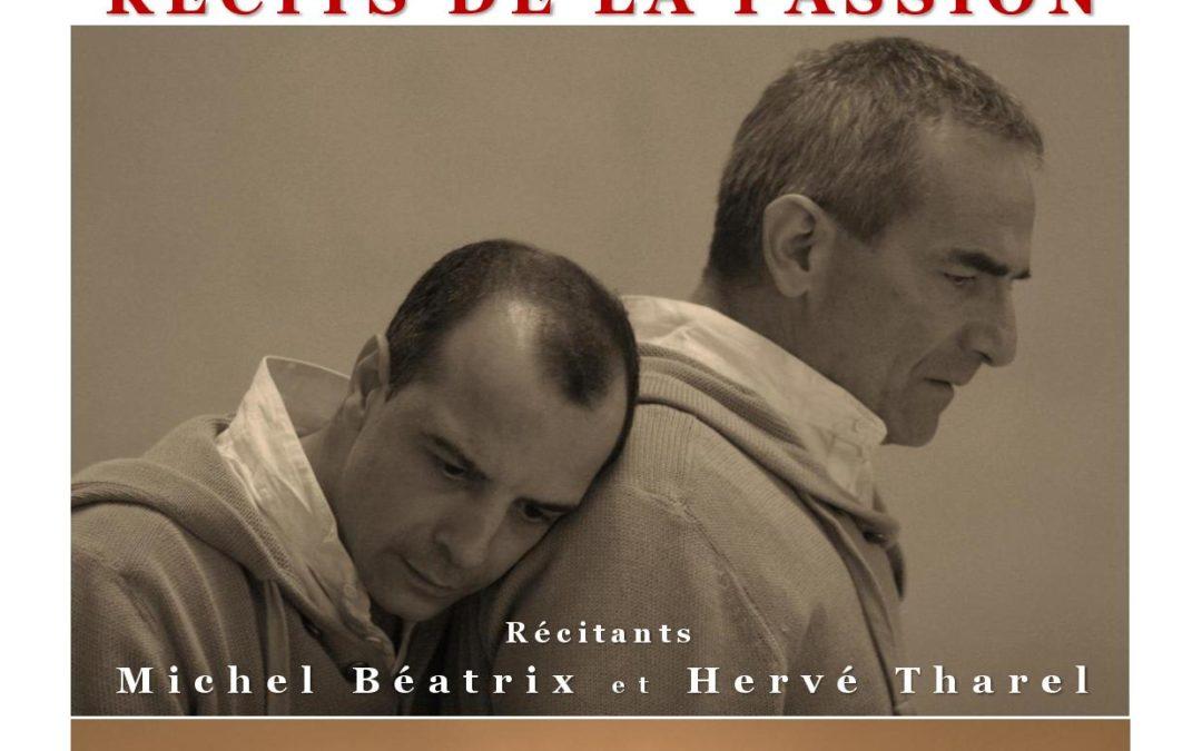 Jeudi 11 avril lecture des textes de la Passion par la compagnie Béatrix