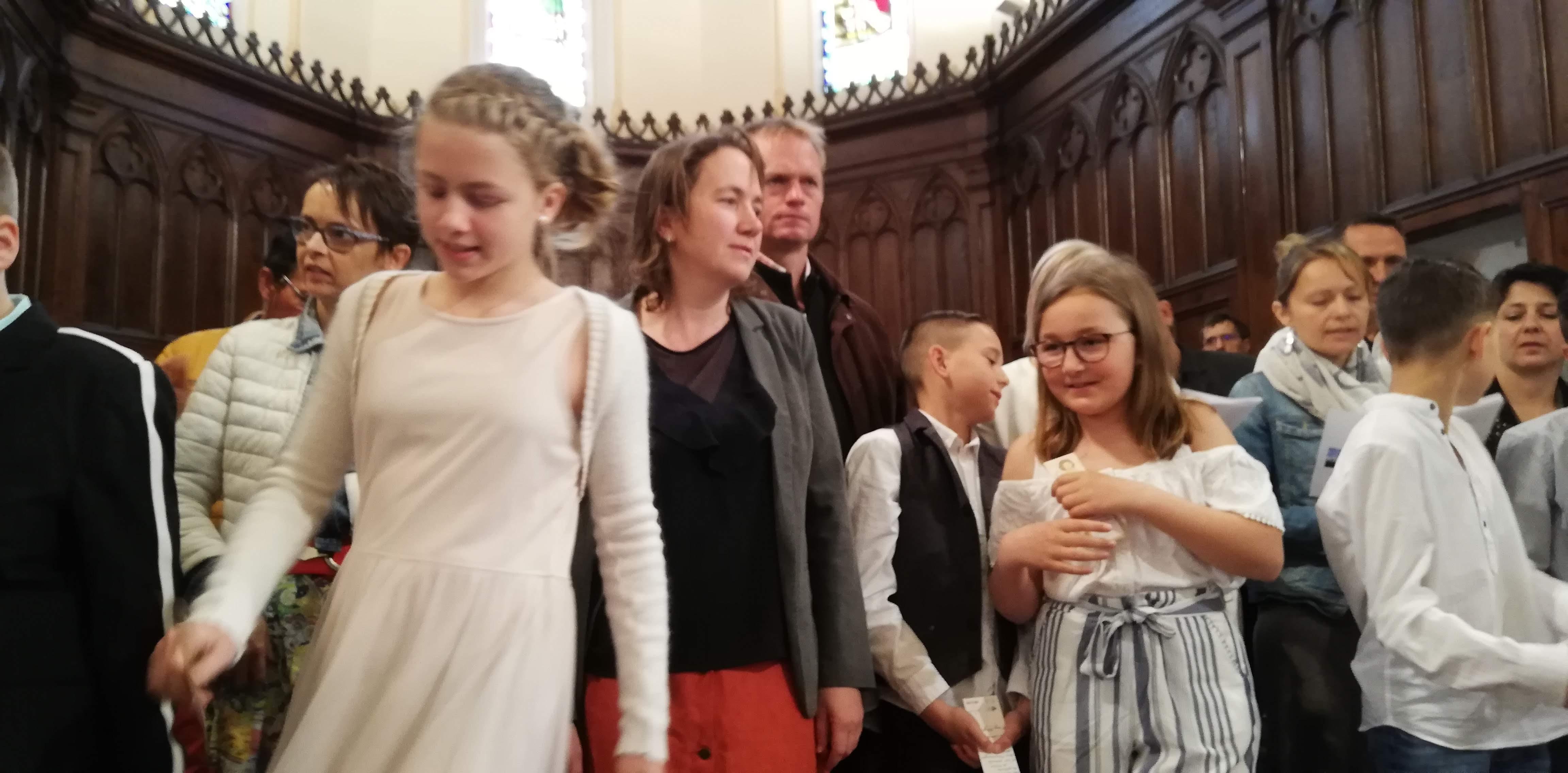 12 Mai 2019 Premières Communion à La Chapelle Sur Coise