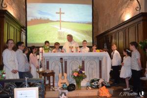yzeron autour de l'autel