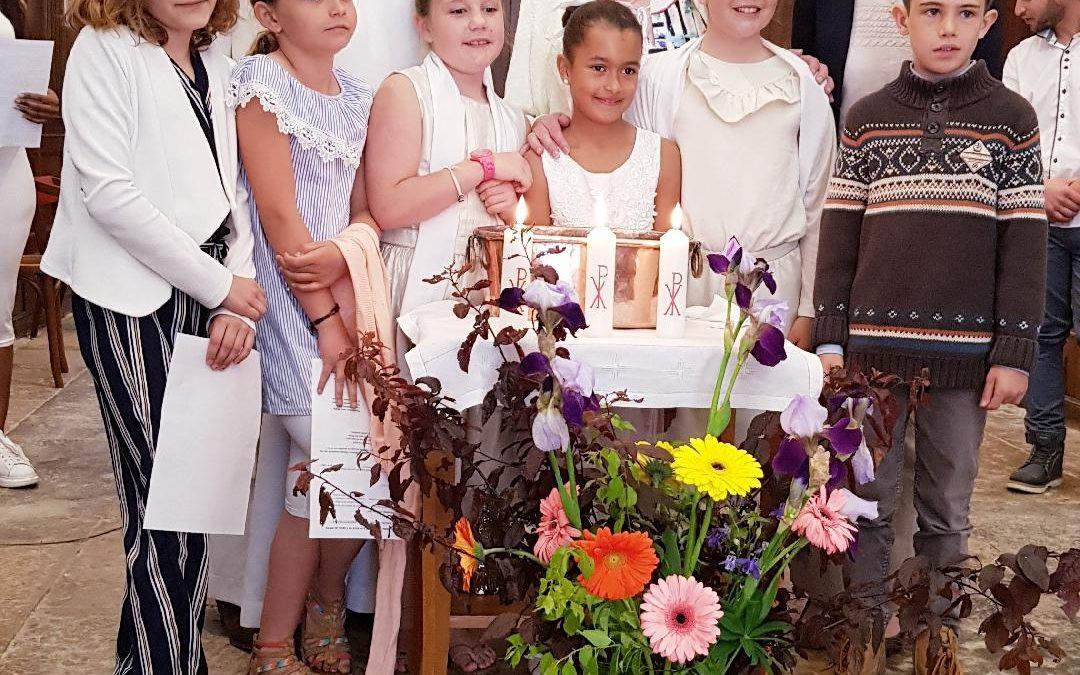 Baptême des enfants en âge scolaire
