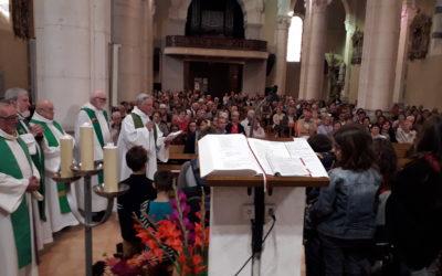 Bénédiction des porteurs de cartables le dimanche 13 octobre à la messe de 10h à St MARTIN