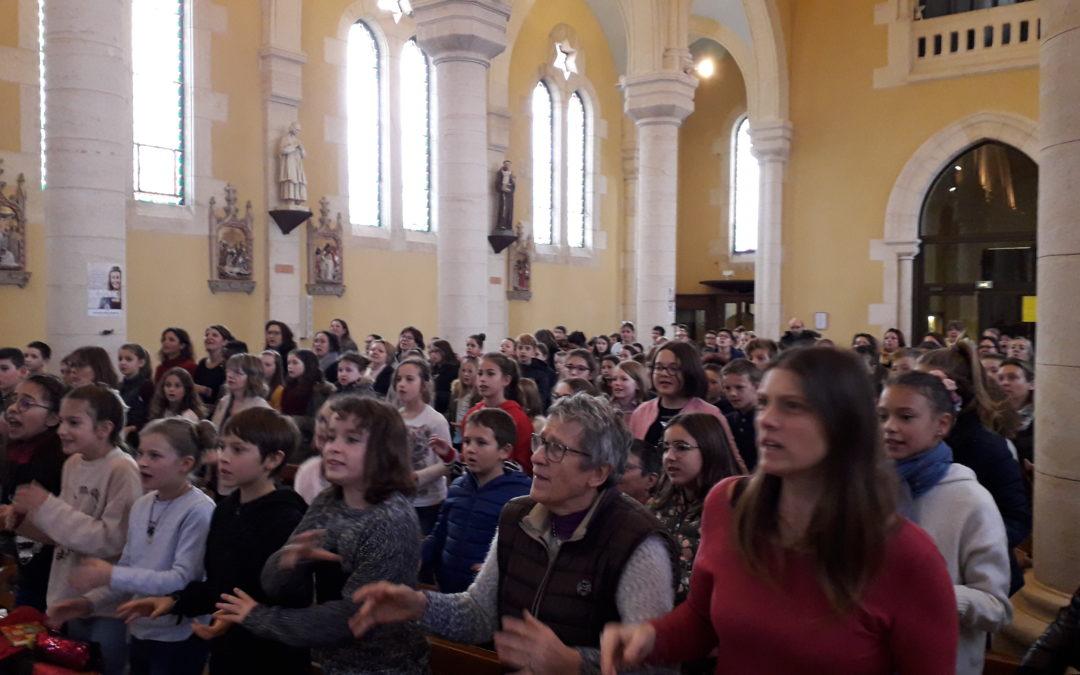 Ensemble vers la première des communions
