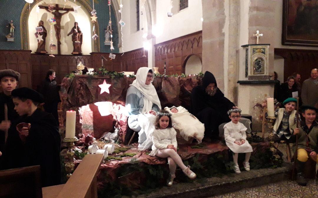 Belle participation aux veillées et messes de Noël !