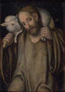 Lucas Cranach the Elder - The Good Shepherd - (MeisterDrucke-85238)